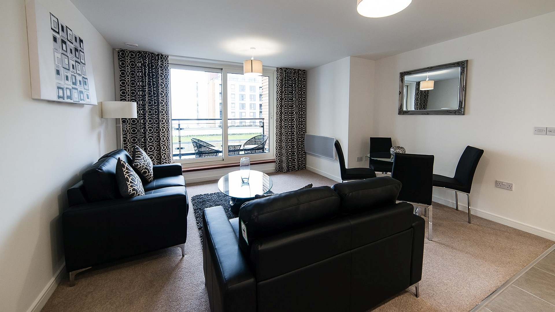 32 Davaar furnished living room use - Squarefoot Estate Agents